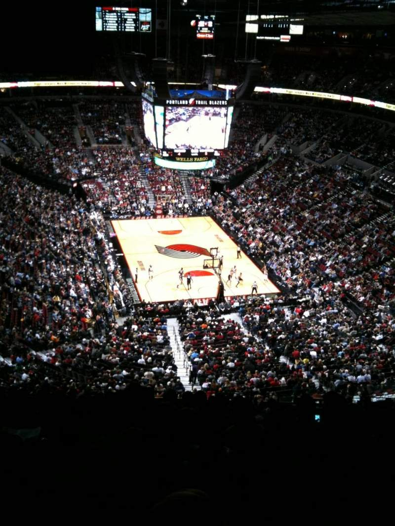 Seating view for Moda Center Section 328 Row P Seat 8