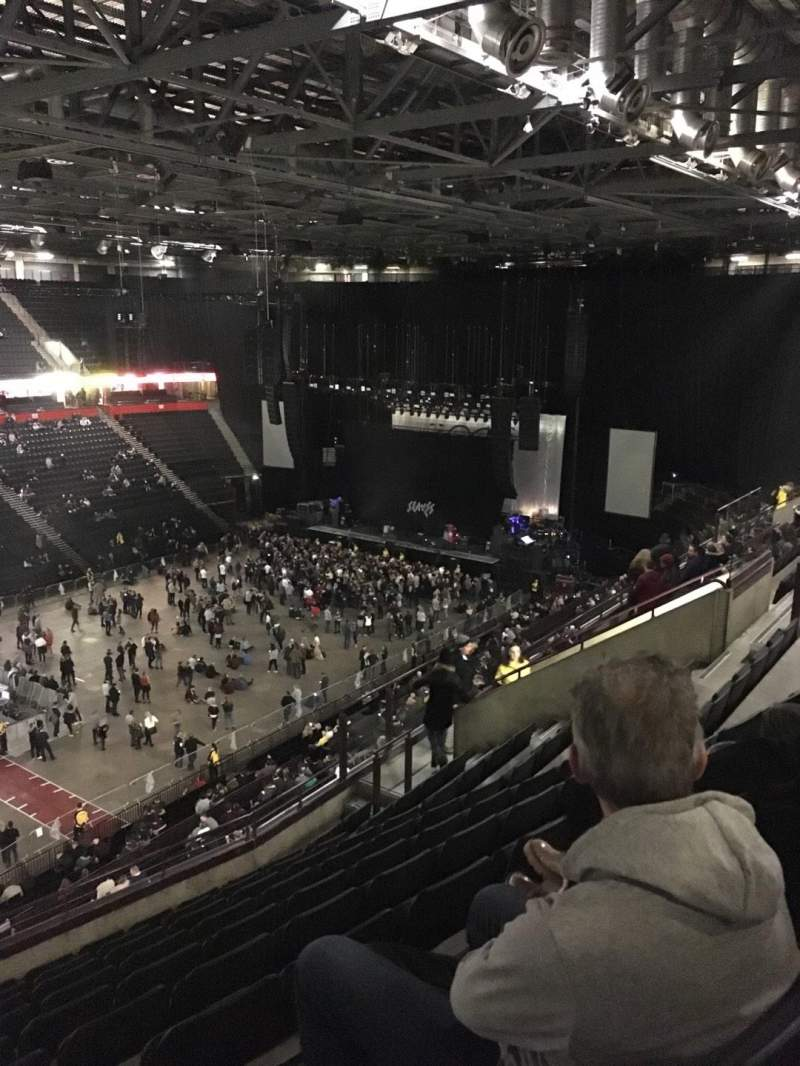 Seating view for Manchester Arena Section 212 Row K Seat 10