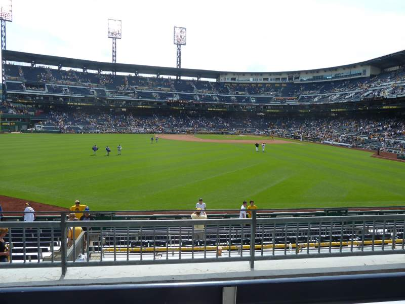 Seating view for PNC Park Section 237 Row C Seat 19
