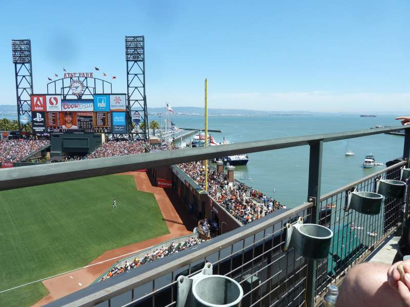 Seating view for AT&T Park Section 304 Row A Seat 15