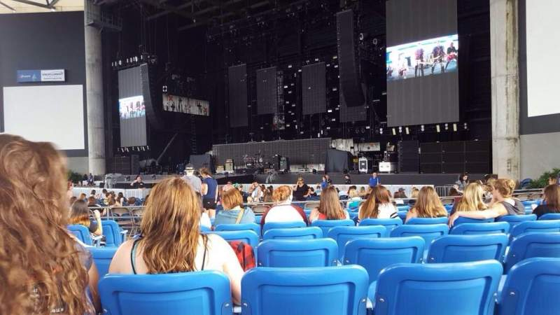 Seating view for MidFlorida Credit Union Amphitheatre Section 7 Row K Seat 3
