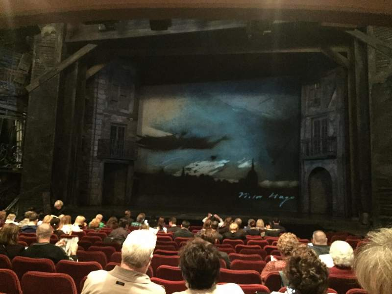 Seating view for Imperial Theatre Section Center Orchestra Row O Seat 111