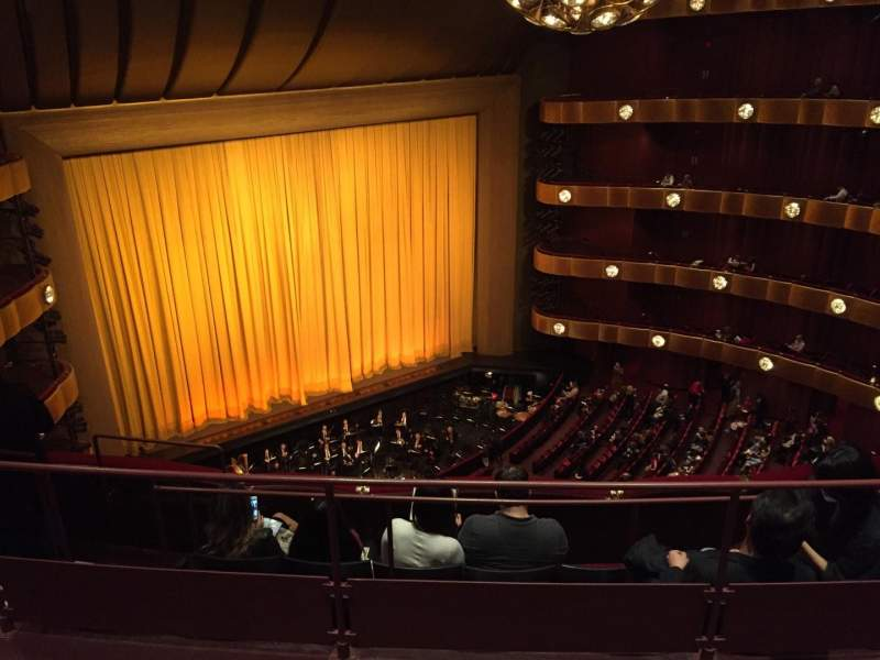 Seating view for Metropolitan Opera House - Lincoln Center Section 4th Ring Row C Seat 29
