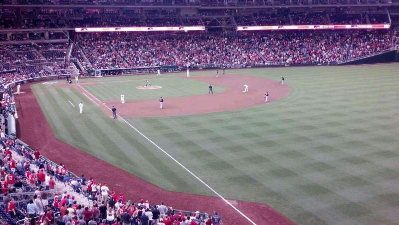 Seating view for Nationals Park Section 233 Row D Seat 16