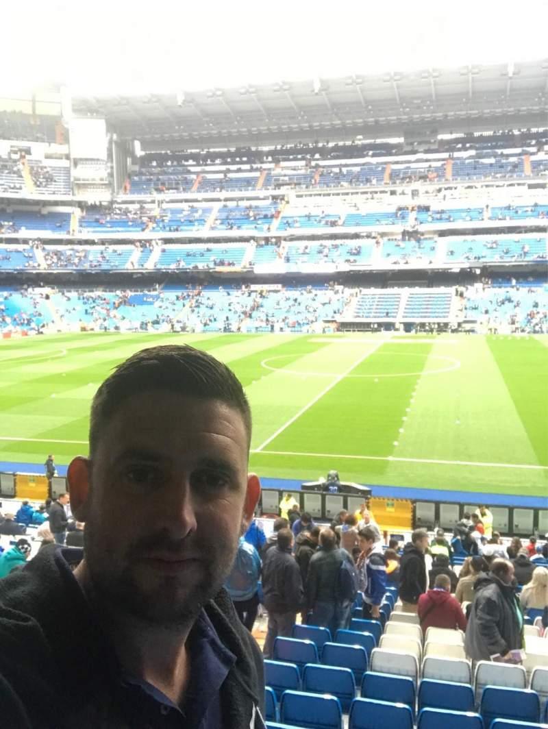 Seating view for Santiago Bernabéu Stadium Section 200 Row 3 Seat 36