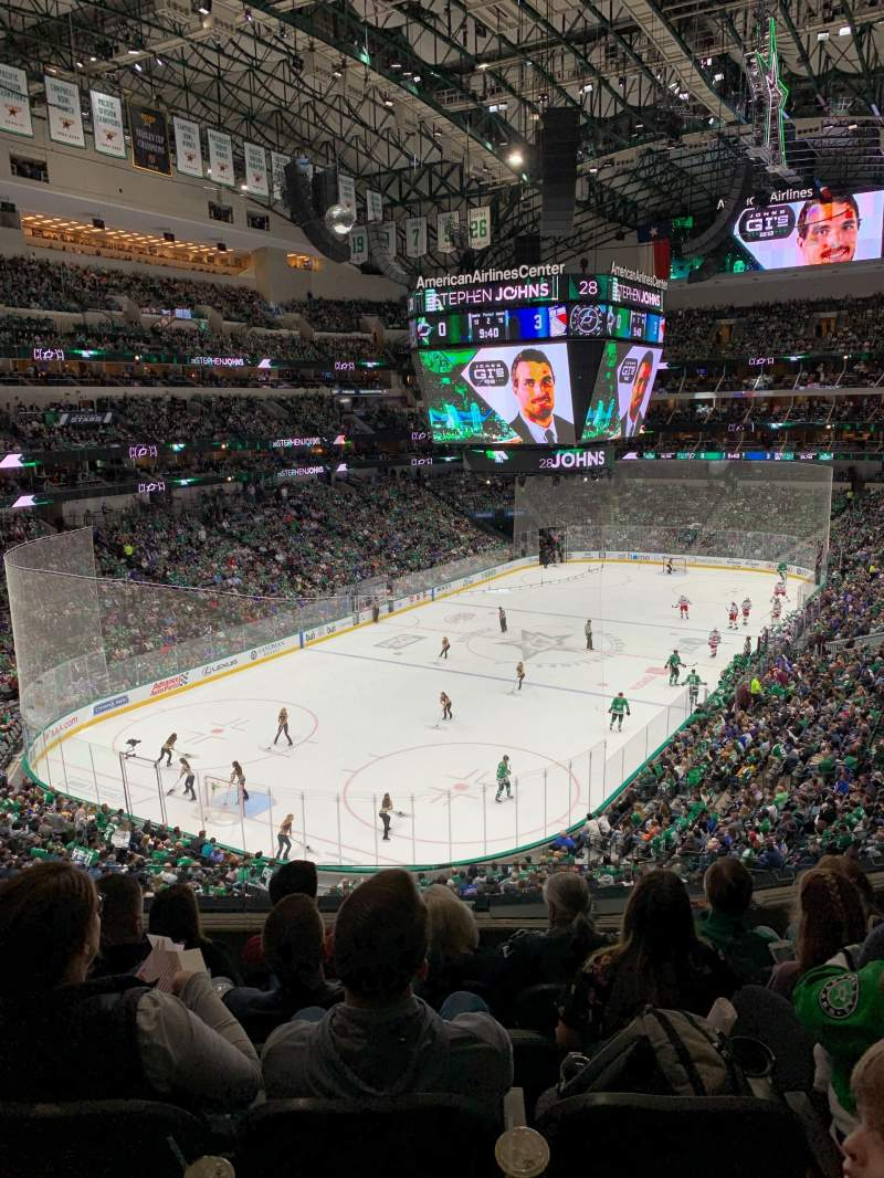 Seating view for American Airlines Center Section 223 Row E Seat 17