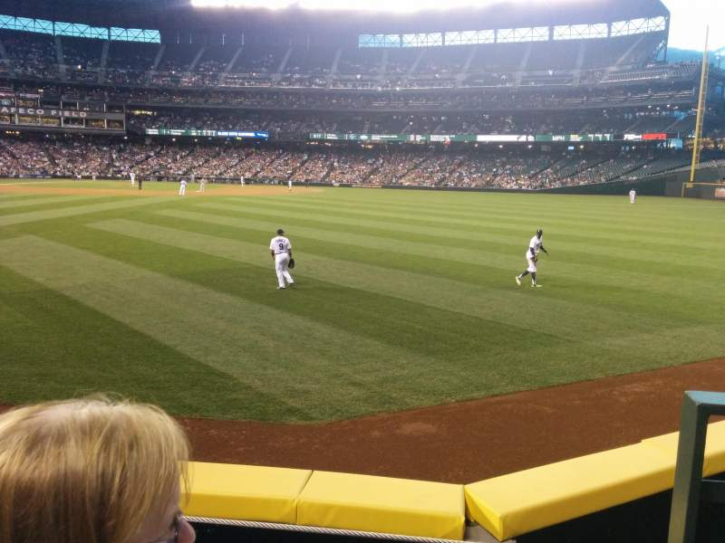 Seating view for Safeco Field Section 106 Row 24 Seat 1