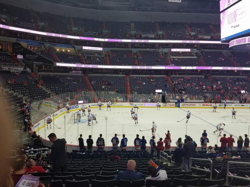 Capital One Arena, section: 109, row: S, seat: 16