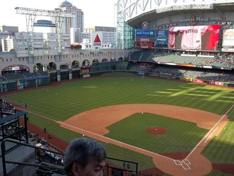 Seating view for Minute Maid Park Section 317 Row 9 Seat 2