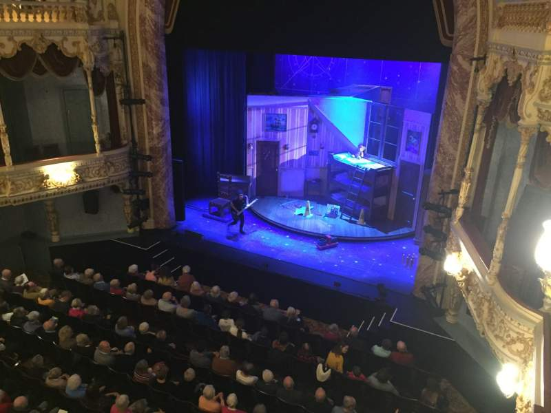 Seating view for Everyman Theatre Section Upper Circle Row A Seat 30