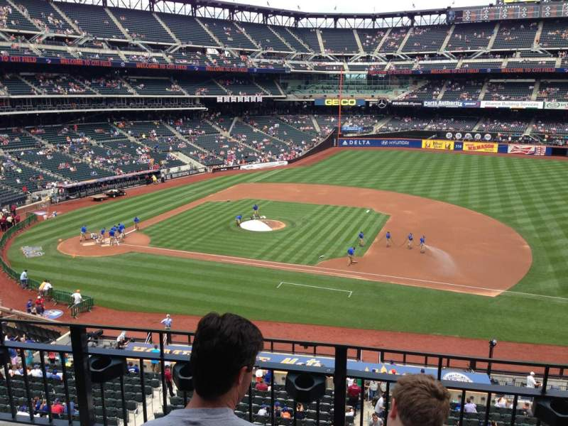 Seating view for Citi Field Section 311 Row 3 Seat 20