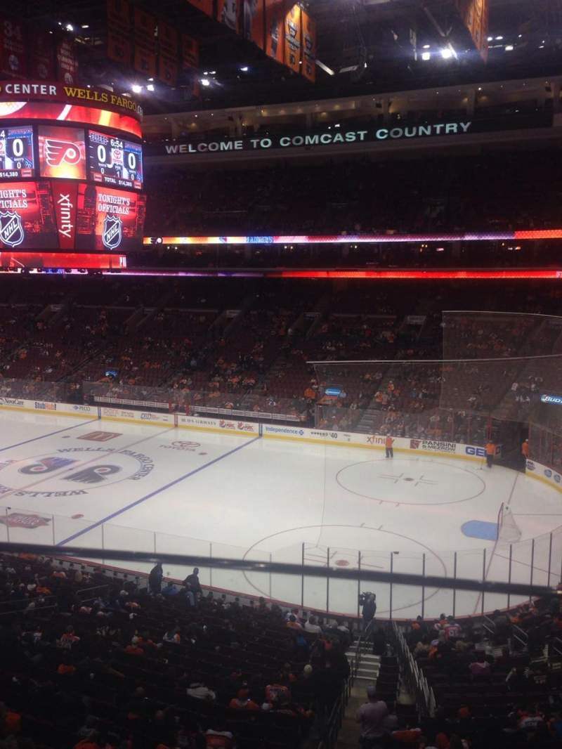 Seating view for Wells Fargo Center Section Suite 75 Row 1