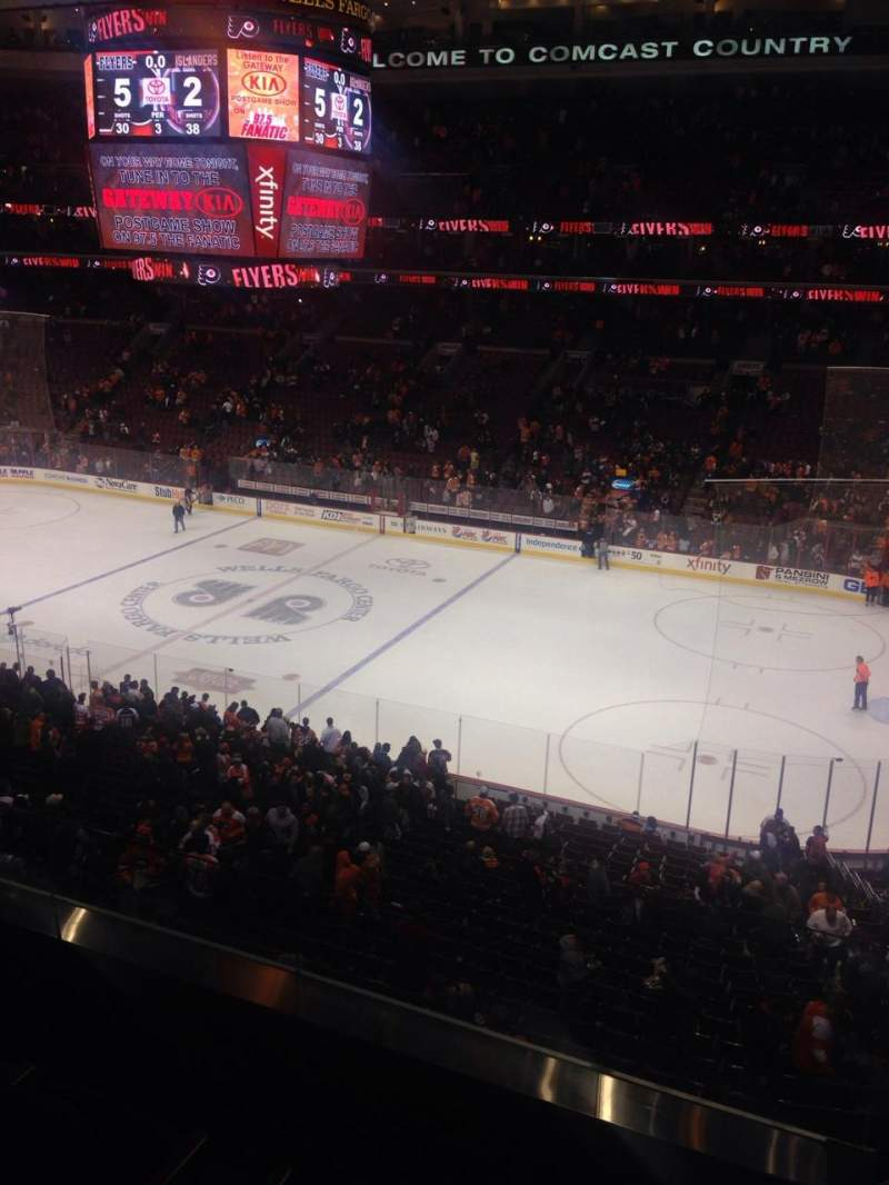 Seating view for Wells Fargo Center Section Suite 77 Row 2 Seat 8