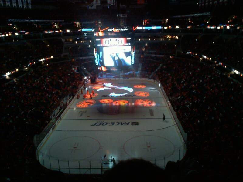 Seating view for Verizon Center Section 426