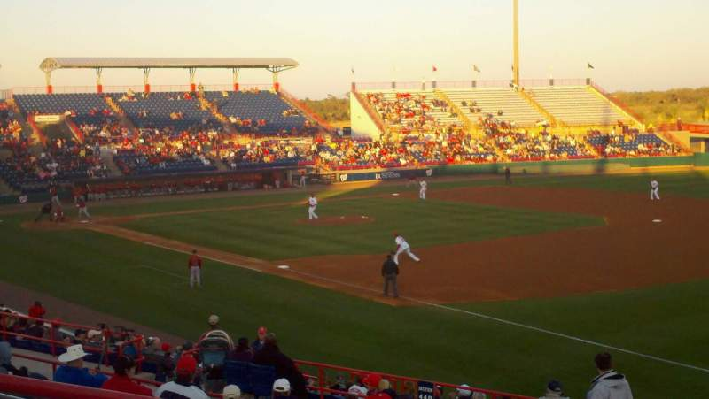 Seating view for Space Coast Stadium Section 221
