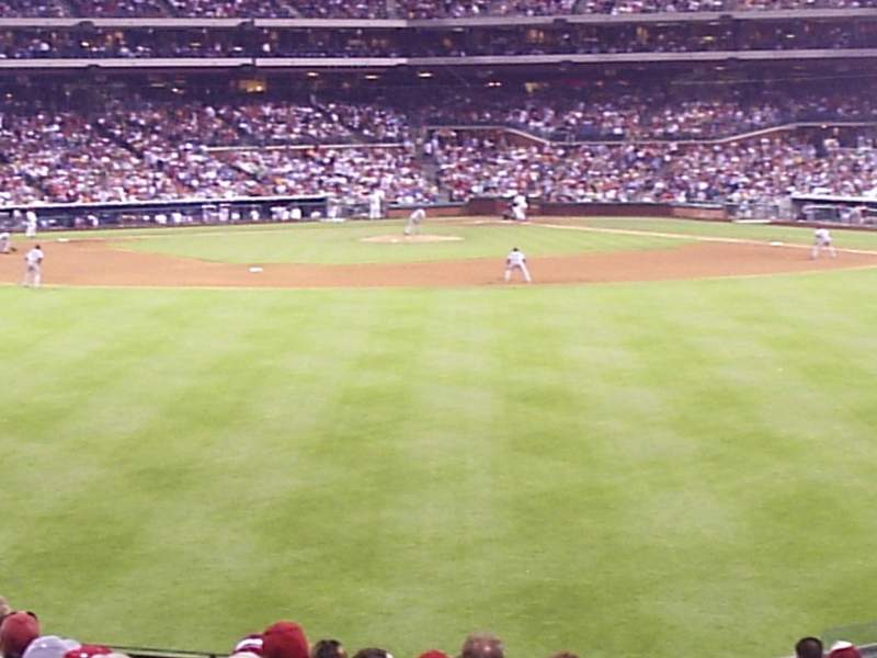 Seating view for Citizens Bank Park Section 146 Row 17 Seat 20