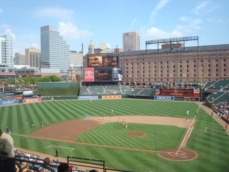 Seating view for Oriole Park at Camden Yards Section 242 Row HH Seat 14