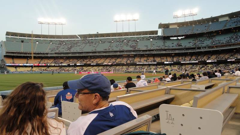 Seating view for Dodger Stadium Section 45FD Row 4 Seat 2