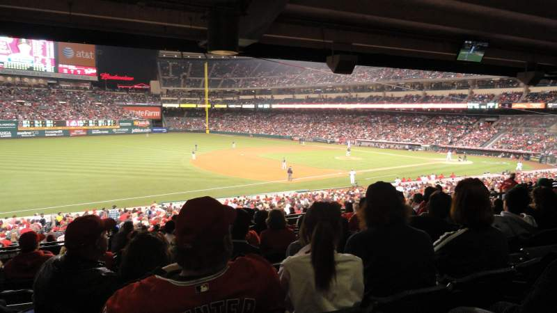 Seating view for Angel Stadium Section 207 Row K Seat 10