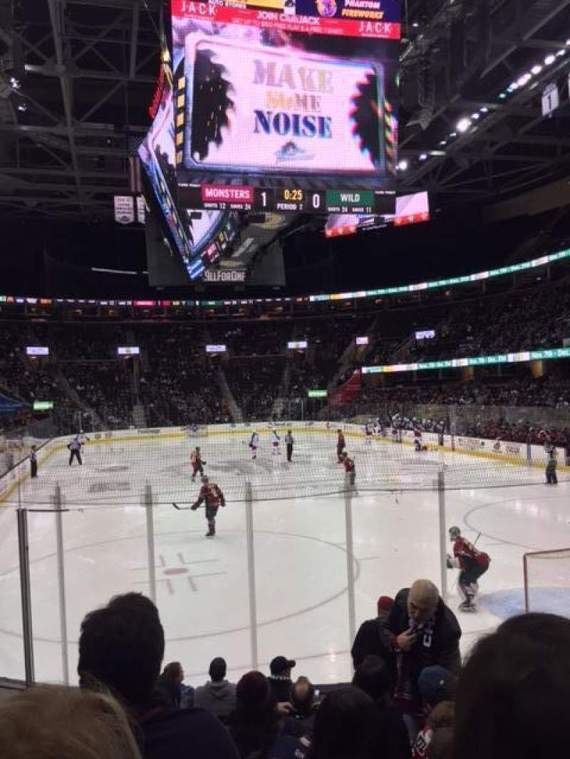 Seating view for Quicken Loans Arena Section 116 Row 9 Seat 5