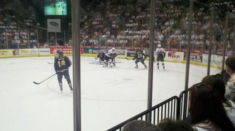 Seating view for Floyd L. Maines Veterans Memorial Arena Section 28 Row BB Seat 6