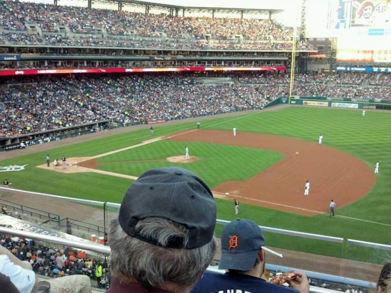 Seating view for Comerica Park Section 218 Row C Seat 15