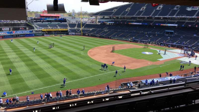 Seating view for Kauffman Stadium Section 300