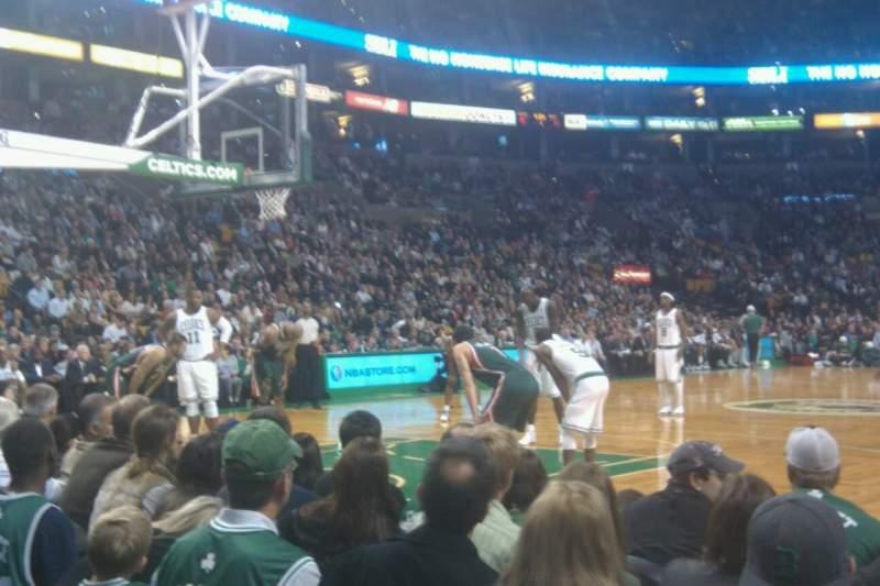 Boston Celtics Floor Seats Brokeasshome Com