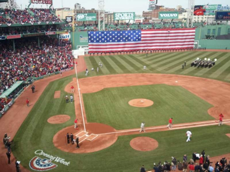 Seating view for Fenway Park Section Pavilion Club 1 Row 1 Seat 13
