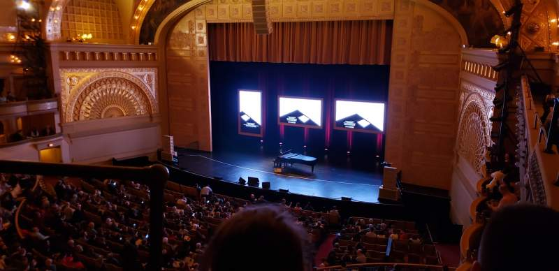 Seating view for Auditorium Theatre Section FBLC RS Row C Seat 118