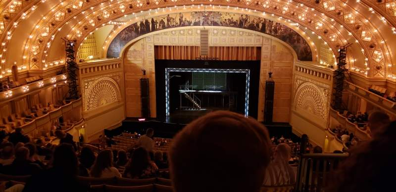 Seating view for Auditorium Theatre Section MBLCCR Row M Seat 310