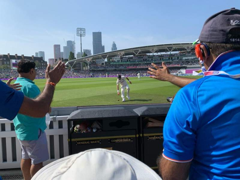Seating view for Kia Oval Section Galadari Stand 27 Row 2 Seat 191