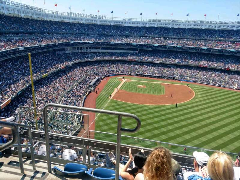 Seating view for Yankee Stadium Section 405 Row 4 Seat 18
