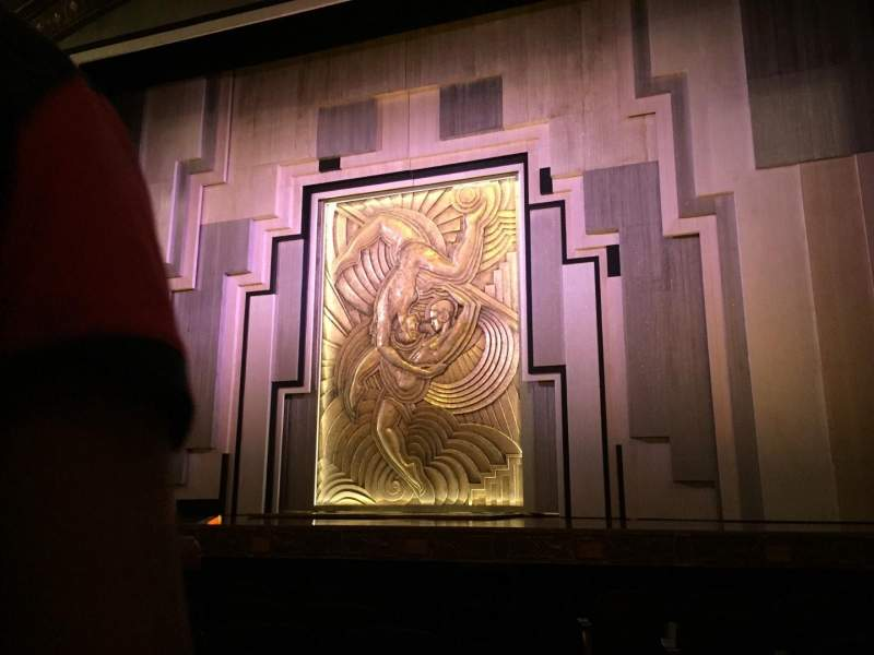Seating view for Lyric Theatre Section Orch Row F Seat 122
