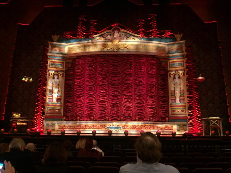 Seating view for Hippodrome Theatre Section Orchestra Row J Seat 110