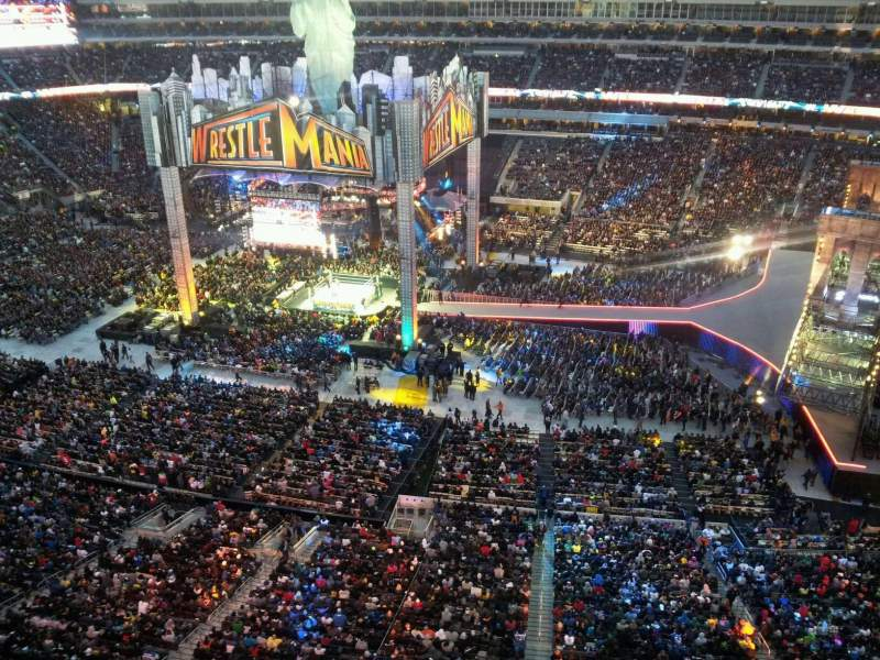 Metlife Stadium Floor Plan: Wrestlemania 29 Photos