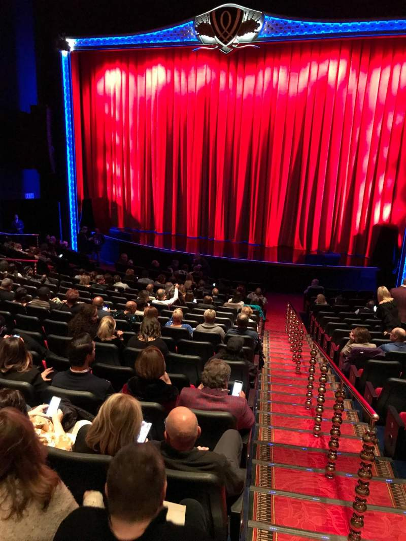 Seating view for Encore Theatre At Wynn Section Orch Center Row S Seat 101