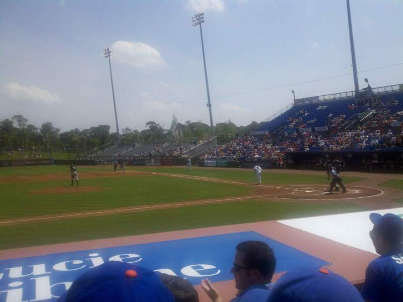 Seating view for Tradition Field Section 108 Row F Seat 10