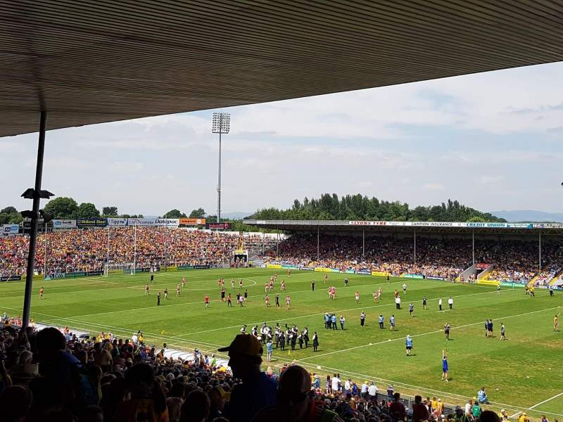 Seating view for Semple Stadium Section 209 Row FF Seat 12