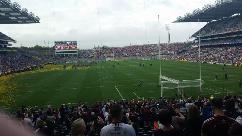 Seating view for Croke Park Section 319 Row FF Seat 27
