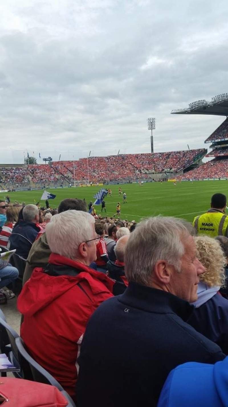 Seating view for Croke Park Section 328 Row U Seat 11