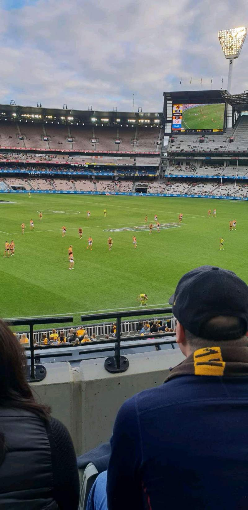 Seating view for Melbourne Cricket Ground Section n51 Row c Seat 22