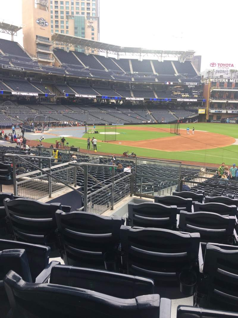 Seating view for PETCO Park Section 115 Row 32 Seat 5