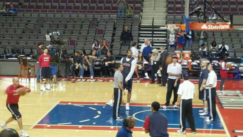 Seating view for The Palace of Auburn Hills Section 125 Row c Seat 018