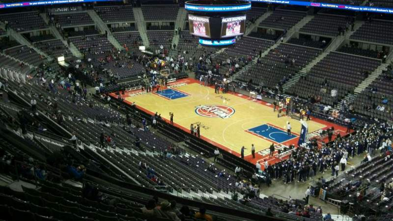 Seating view for The Palace of Auburn Hills Section 226 Row 14 Seat 002