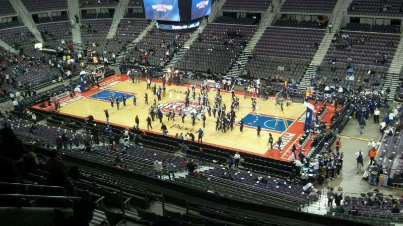 Seating view for The Palace of Auburn Hills Section 228 Row 11 Seat 11