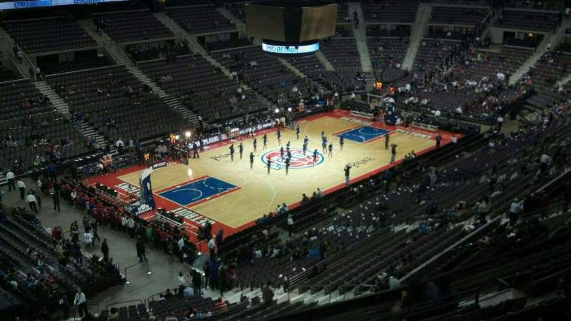 Seating view for The Palace of Auburn Hills Section 204 Row 10 Seat 012