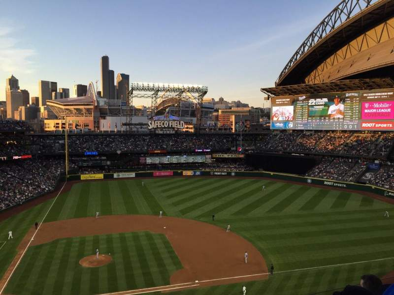 Seating view for Safeco Field Section 323 Row 4 Seat 23