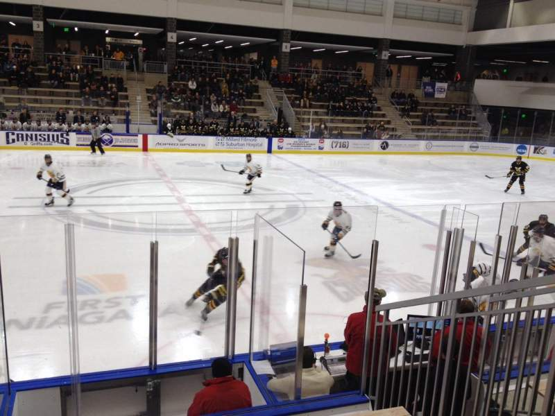 Seating view for HarborCenter Section 9 Row 7 Seat 24