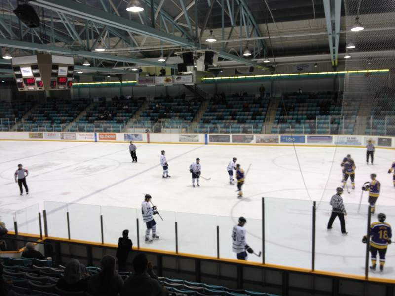 Seating view for Waterloo Memorial Recreation Complex